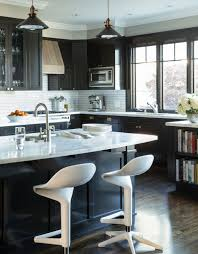 Kitchen Black Cabinets Marvelous Kitchen Black Cabinets With Painted Pic Of Design