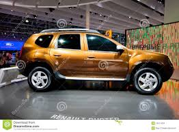 renault jeep orange jeep car renault duster editorial stock image image 19511834