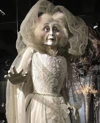 halloween life size katherine u0027s collection lady in mourning ghost bride halloween