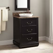 Solid Wood Filing Cabinet by Solid Wood Vanity Signature Hardware