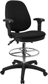 vinyl drafting chair with arms the drafting chair with arms
