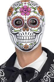 Day Of The Dead Mask Day Of The Dead Mask U0027s Mexican Sugar Skull Costume Mask