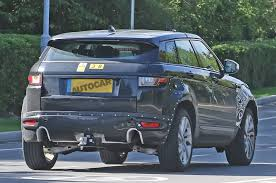 range rover engine range rover evoque phev due with new three cylinder engine autocar