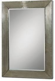 Uttermost Mirrors Dealers Uttermost Rashane Metal Mirror Industrial Wall Mirrors By Vb