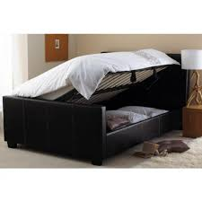 Ottoman Faux Leather Bed Cheap Hyder Living Vienna Ottoman Black Faux Leather Bed Frame For