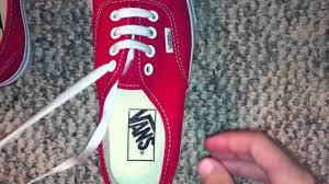 shoelace pattern for vans how to straight lace bar lace vans with 4 holes youtube