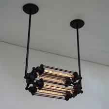 Chandelier With Edison Bulbs Discount Edison Bulb Chandelier Lighting Lamps Vintage Retro Bar