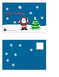 christmas postcards free printable christmas postcards