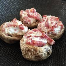 cuisiner les c es frais chignons farcis au carré frais et bacon pour l apéro cuisine