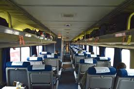 amtrak silver star without the dining car typical amtrak coach car