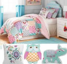 Twin Bedding Sets Girls owl bedding set popular with additional small home decoration
