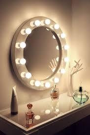 round makeup mirror with lights round vanity mirror with lights diy round designs