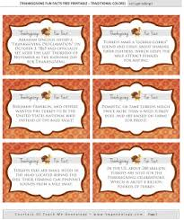 30 thanksgiving facts free printables for thanksgiving dinner