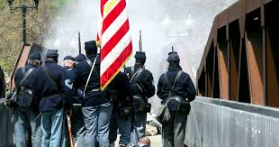 Flags At Half Mast Michigan Marked By Blood And Bullets Flags Record Michigan U0027s Civil War