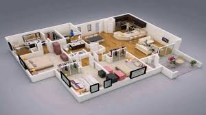 Average House Square Footage by House Designs Floor Plans 3 Bedrooms Youtube