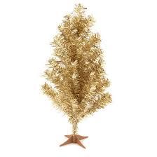 2ft gold slim tinsel tree wondershop target