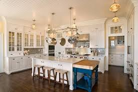 kitchen island with pot rack kitchen overhead large wrought iron pot rack also exposed log beam