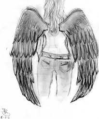 angels drawings pencil free download fallen angel drawing pencil
