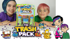 trash pack series 7 junk germs surprise opening