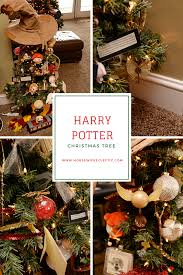 harry potter christmas tree housewife eclectic