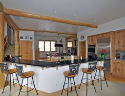 white kitchen island with breakfast bar bar stunning white kitchen design with pendant lamps and wooden