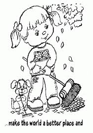 daisy scouts coloring pages free coloring home