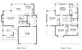 residential floor plan floor plan for 2 storey residential house house and home design