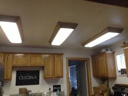 Fluorescent Light For Kitchen Replace Ugly Fluorescent Ceiling Fixtures In Kitchen