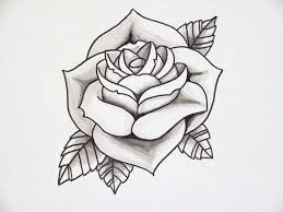 29 best rose tattoo outlines images on pinterest tattoo outline
