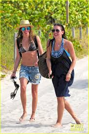 rapper cassidy bentley katie cassidy takes selfies on the beach in miami photo