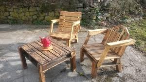 meuble fait en palette étourdissant salon jardin en palette avec meuble en palette salon