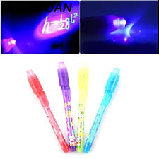 black light ink pen tuantuan 2 in 1 uv black light combo stationery invisible ink pen