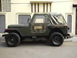 mobil jeep modifikasi bekas jeep cj7 militer special edition
