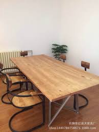 country wood furniture creative wrought iron wood conference table