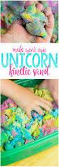 unicorn kinetic sand tutorial how to make this vibrant sensory
