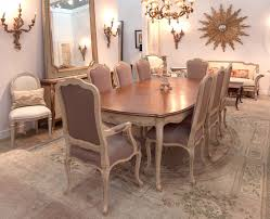 table french style dining room table french oak dining table and