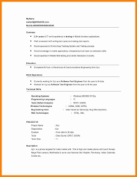 Sample Resume For Experienced Software Tester by Download Gui Testing Resume Haadyaooverbayresort Com