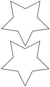 5 pointed star shape free printables free printable shape