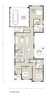Narrow Home Floor Plans Best 25 Single Storey House Plans Ideas On Pinterest Story