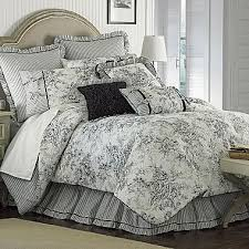 Ideas For Toile Quilt Design Gorgeous Design Ideas For Toile Bedding Country
