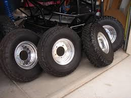 baja sand rail polished cms wheels with 33