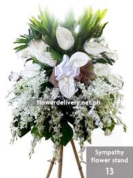 sympathy flowers delivery sympathy flower stand 13 flower delivery in metro manila