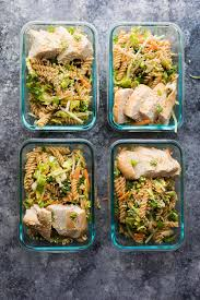 chicken pasta salad meal prep sesame chicken pasta salad sweet peas and saffron