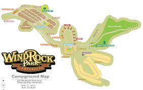 Dollywood Map Windrock Park Campground 5 Photos Oliver Springs Tn Roverpass