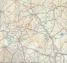 Maps Of South Africa by Road Map Of South Africa Tracks4africa Maps Company
