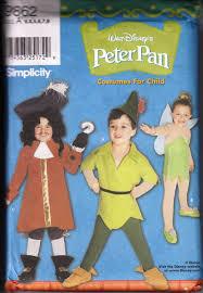 Childrens Halloween Costume Patterns Peter Pan Costume Pattern Simplicity 9662 Peter Pan Costume