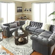 U Shaped Sectional Sofa U Shaped Sectional Coffee Table Cozy Fabric U Shaped Sectional