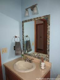 Bathroom Mirror Remodel by Best 25 Tile Around Mirror Ideas Only On Pinterest Mirror