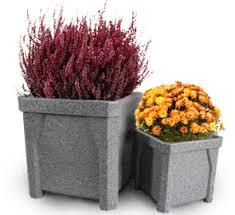 Square Plastic Planters by Polyethylene Square Planters Polyethylene Planters Belson