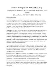 Physiotherapy Resume Samples Pdf by Steve New Cv 2014